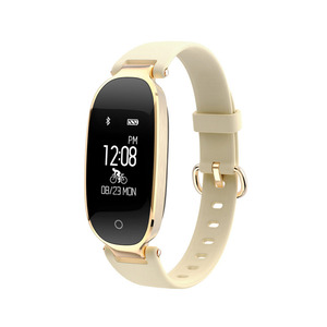Image 2 - بلوتوث مقاوم للماء ساعة ذكية النساء السيدات الموضة مراقب معدل ضربات القلب جهاز تعقب للياقة البدنية Smartwatch Mujer ل IOS أندرويد