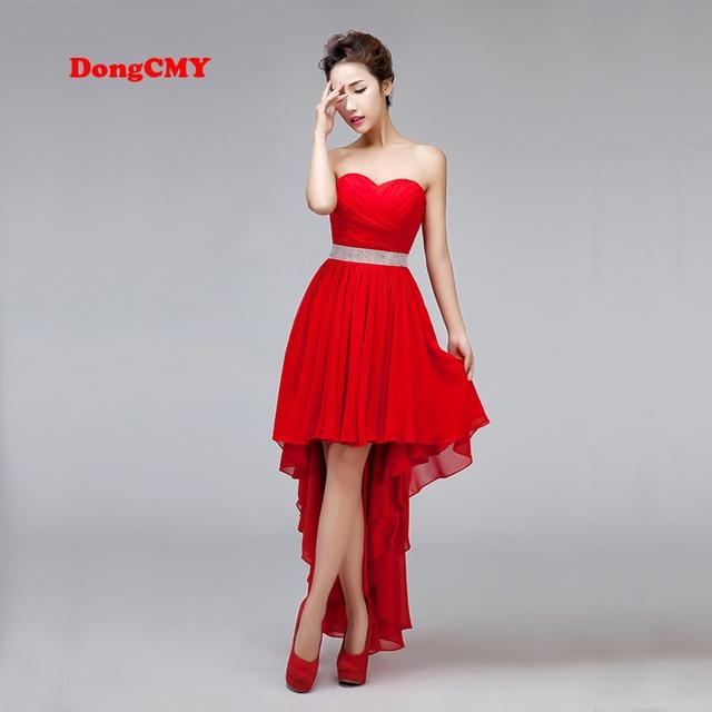 Dongcmy Новое поступление 2018 Кружево до праздничное платье Большие размеры платья для выпускного вечера