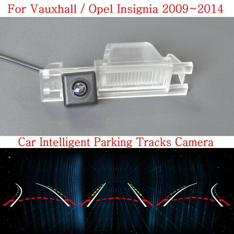 Car Intelligent Parking Tracks Camera FOR Vauxhall / Opel Insignia 2009~2014 / HD Back up Reverse Camera / Rear View Camera lyudmila car intelligent parking tracks camera for hyundai creta ix25 2014 2017 hd back up reverse car rear view camera