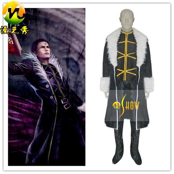 hunter x hunter kuroro lucifer cosplay costume halloween costumes 3xl mens halloween costumes
