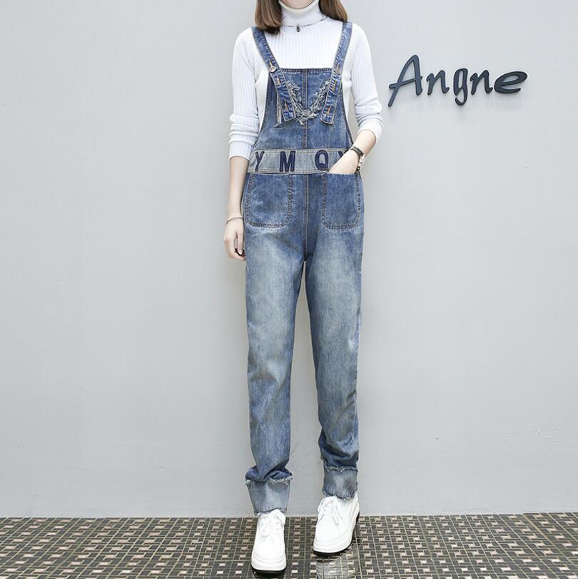 e5e74e44936 2019 2018 New Fashion Jeans Women Jumpsuit Denim Romper Overalls ...