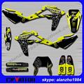 TOP QUALITY HUSQVARNA SM SMR 450 510 SMR510 530 2008-2010 YELLOW AND BLACK 3M TEAM GRAPHICS DECALS STICKERS KITS DIRT BIKE