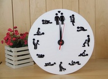 Sex Position Clock / 24Hours Sex Clock / Novelty Wall Clock туфли 24hours