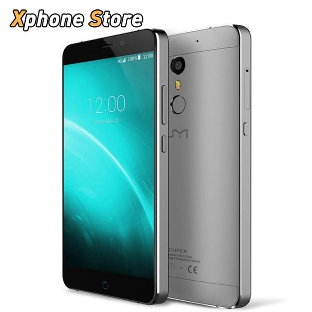 Original UMI SUPER 32GB ROM 4GB RAM 5.5 inch Android 6.0 Helio P10 4G Smartphone Octa Core 2.0GHz Dual SIM FDD-LTE Cell phone