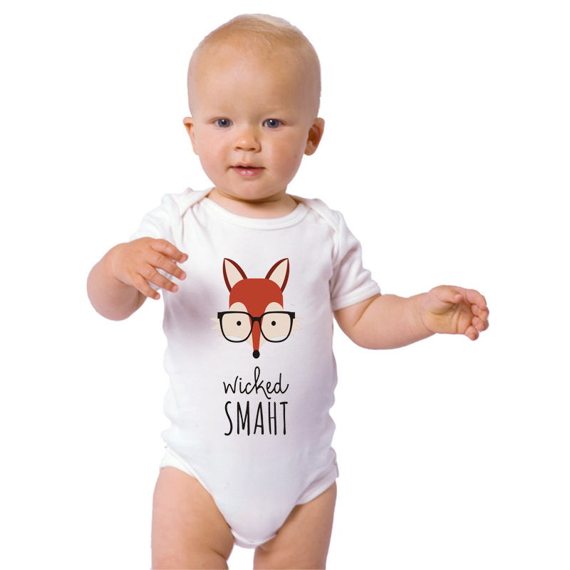 lucky roll toddler infant bodysuit newborn baby boys girls white
