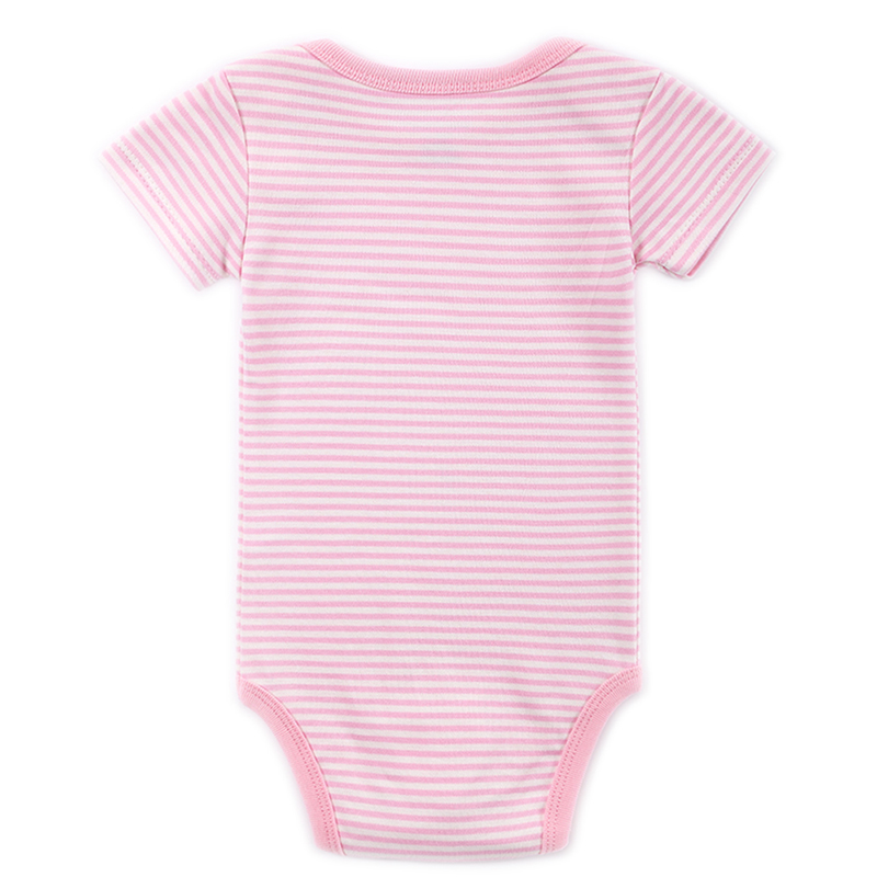 100%Cotton Fashion Anmail Style Printerd Infant Jumpsuit Clothes Bebe Baby Girls Bodysuit Babies Dresses Newborn Clothing 0-12 M (3)