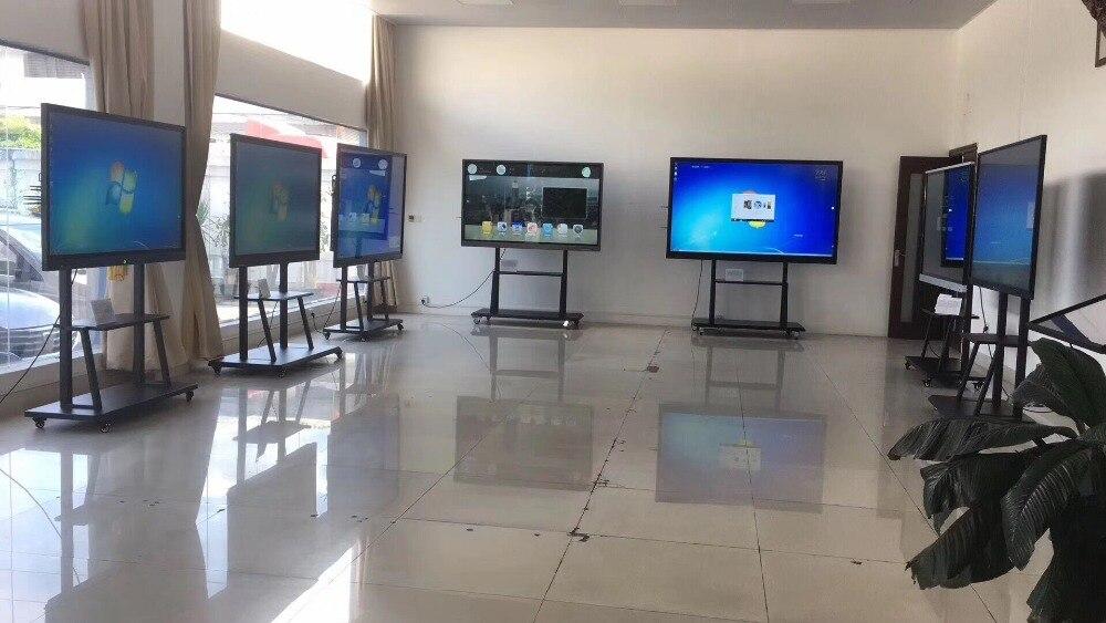 I7 ОС windows 98 дюймов 4 K светодиодный ТВ WI FI сети smart телевидения с сенсорным экраном и ПК собран в