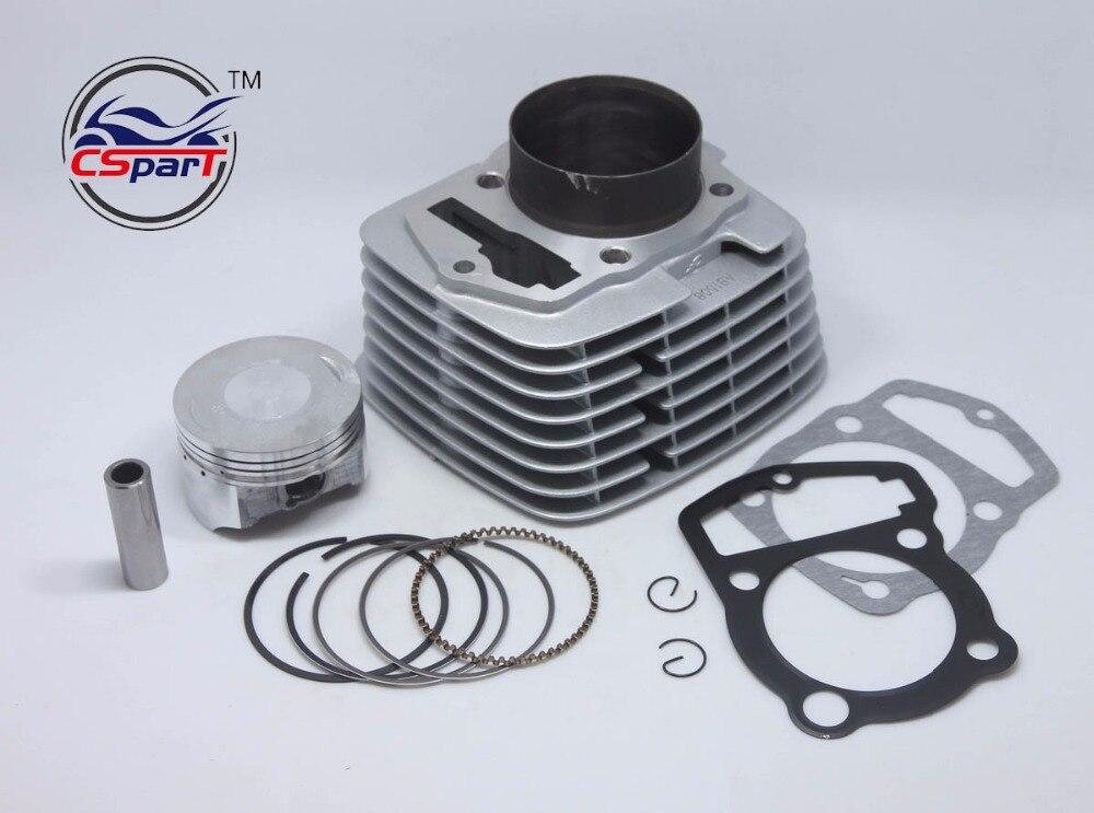 65.5MM 15MM 81MM CB250 250CC Cylinder Kit Loncin ZongShen 250CC 165FMM Engine Kaya Xmotos Apollo Tmax Pit Dirt  Bike Parts