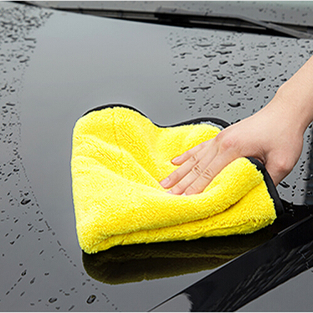 Car-styling Car Care Wash Cleaning Microfiber Towel For Radio 2 Din Android Volvo V70 Bmw E61 Skoda Rapid Fiat Bravo Subaru Exterior Accessories Automobiles & Motorcycles