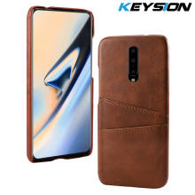 KEYSION Phone Case For Oneplus 7 Pro Cover Leather Luxury Wallet Card Slots Back Capa For Oneplus 7 1+7 Pro Cases Fundas
