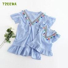 Ropa Mama E Hija 2017 Summer Mother Daughter Matching Dress