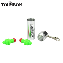 Tourbon Shooting Active Noise Cancelling Ear Plugs Sleep Muff Hearing Protection Silicone Soundproof Hunting Earplugs