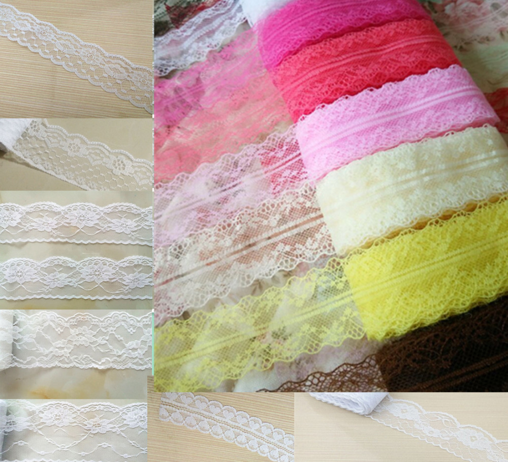 10 Yards High Quality Lace Embroidery Lace / DIY Handicraft Jewelry / Clothing / Wedding / Gift Boxes And Other Decorative Lace