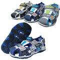 Лето 1 пара PU мода детская обувь сандалии + внутренние 16 - 19.5 см, Мальчик обувь мягкая обувь, Малыш ортопедические дешевой обуви