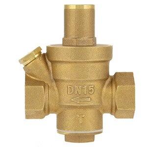 "Image 3 - DN15 1/2"" Reducing Regulator Valve Brass Water Pressure Reducing Regulator Valve Adjustable Thread Water Pressure Reducing Valve"