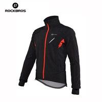 ROCKBROS Cycling Jacket Mountain Bike Windproof Jacket Bicycle Clothing Men Cycling Jersey Jacket Coats Motocross Jersey