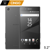 Original Sony Xperia Z5 S501S0 Japanese Version RAM 3GB ROM 32GB 23.0MP Camera GSM WCDMA LTE Android Octa Core 5.2 Inch
