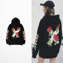 Cross Hoodie Fashion Blossom