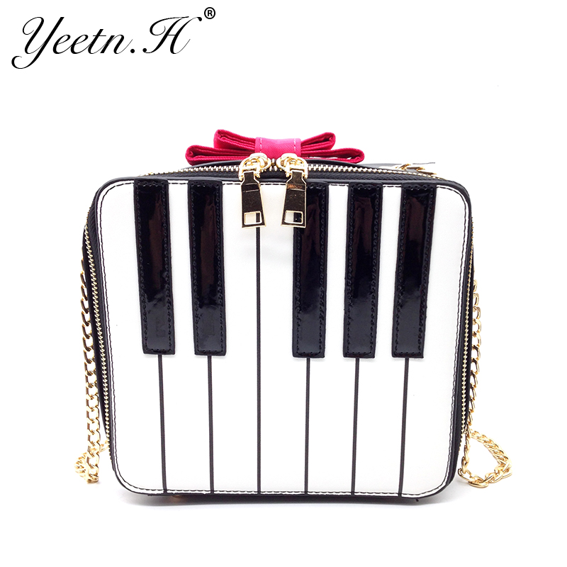 Yeetn. H Nueva Llegada de Las Mujeres Bolso de La Manera Color Del Piano Satchel