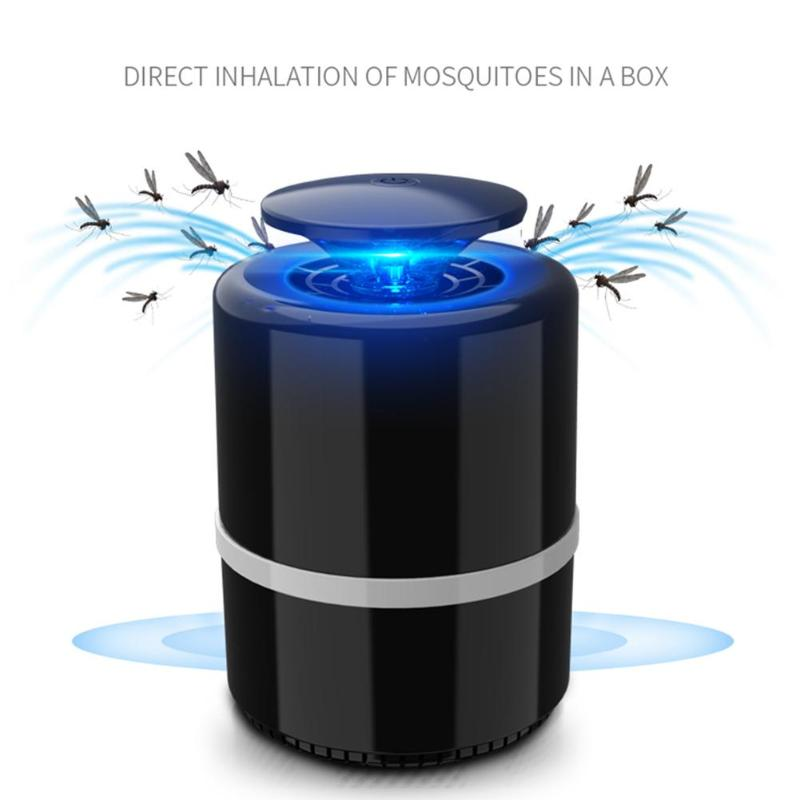 DC5V USB Mosquito Killer Lamp Moth Fly Wasp Trap LED Night Light Pest Zapper Indoor Mosquito Killing Pest Control