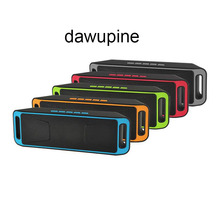 dawupine Mini Blueteeth Speaker MP3 WMA Audio Player TF Card USB Reader Slot FM Radio Li-ion Battery Mobile Phone Computer