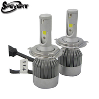 Super Bright Car Headlights H7 LED Headlight Kit Ampoules 110W 20000LM COB 6000K White Bulbs 12V