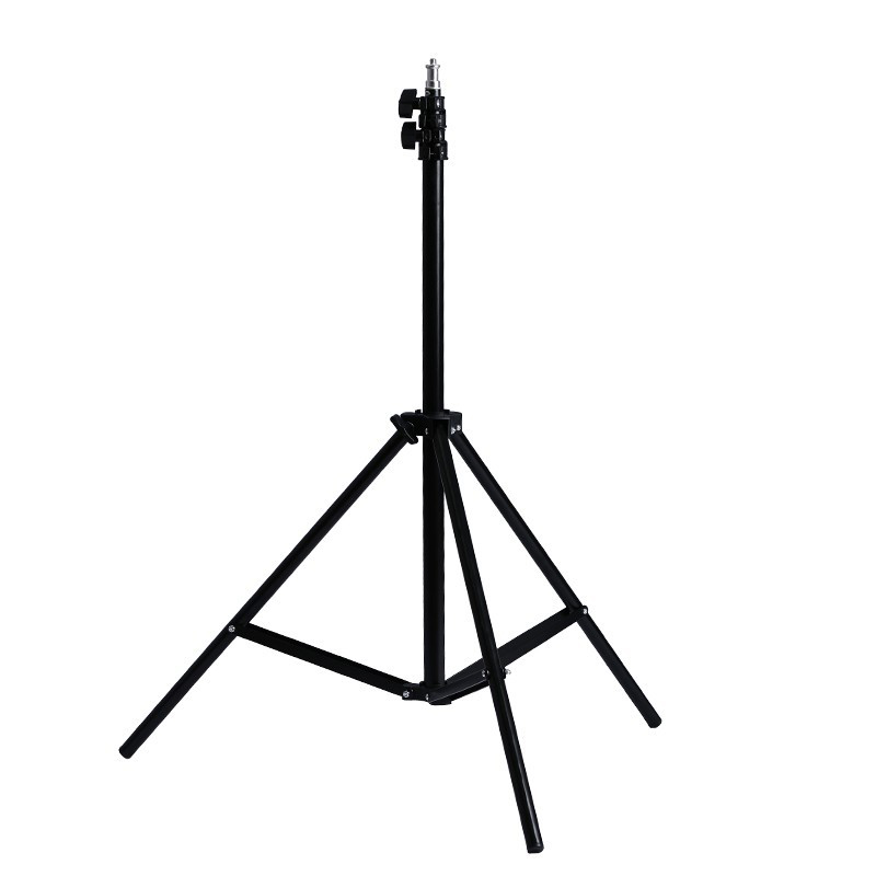 10pcs 1.9M(75inch) fold Light Stand Tripod With 1/4 Screw Head For Photo Studio Softbox Video Flash Umbrellas Reflector Lighting