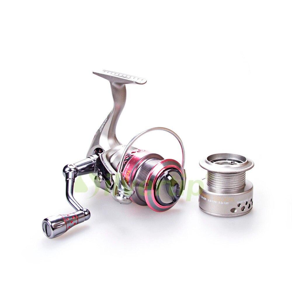 ФОТО Free Shipping Yoshikawa 9+1 BB Spinning Fishing Reel 2500H Extra Spool High Speed Saltwater