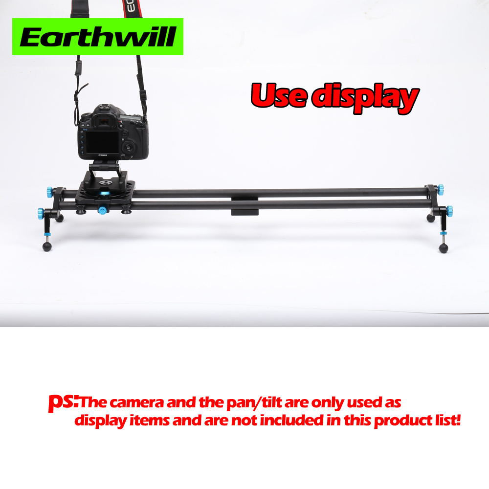 Blue 60 80 100 Camera & Photo Studio Advertising shooting focus carbon fiber video phone trolley dslr camera slider Rail Systems