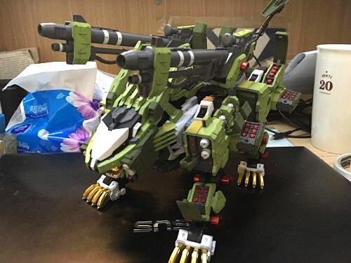2019 New Building Model Kits BT 1/72 ZOIDS Liger Zero Panzer Gundam Assembled Model Anime Action Figure With Original Box