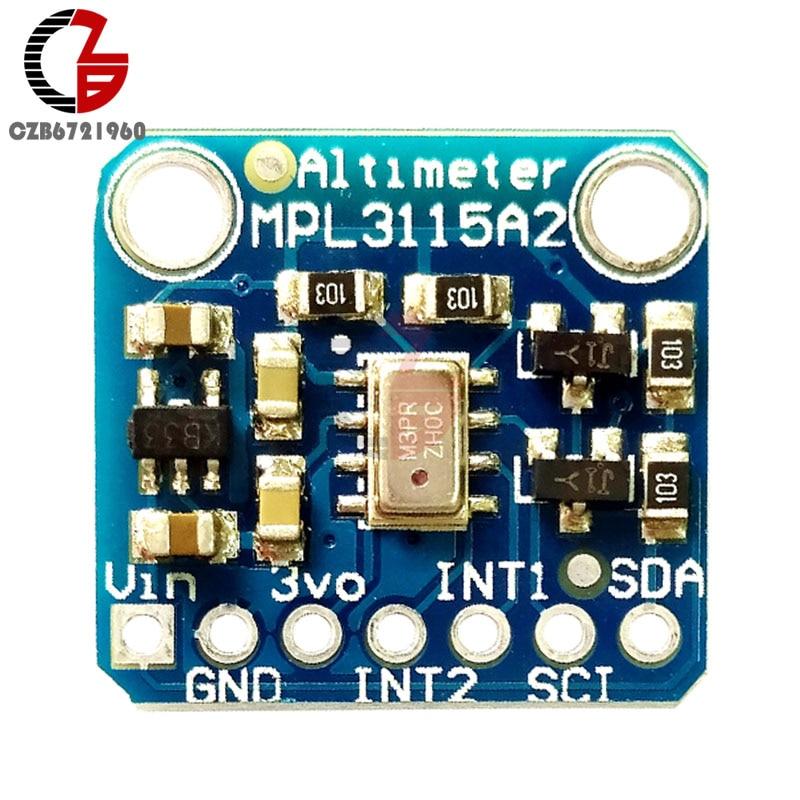 New MPL3115A2 I2C Intelligent Temperature Pressure Altitude