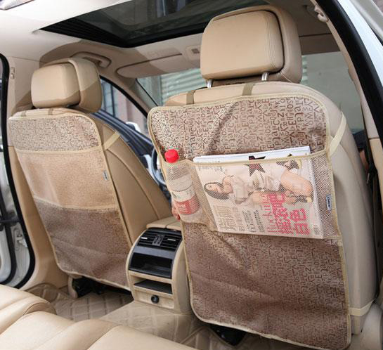 OUZHI Car Seat Back Protector Mat Seat Back Protector Case