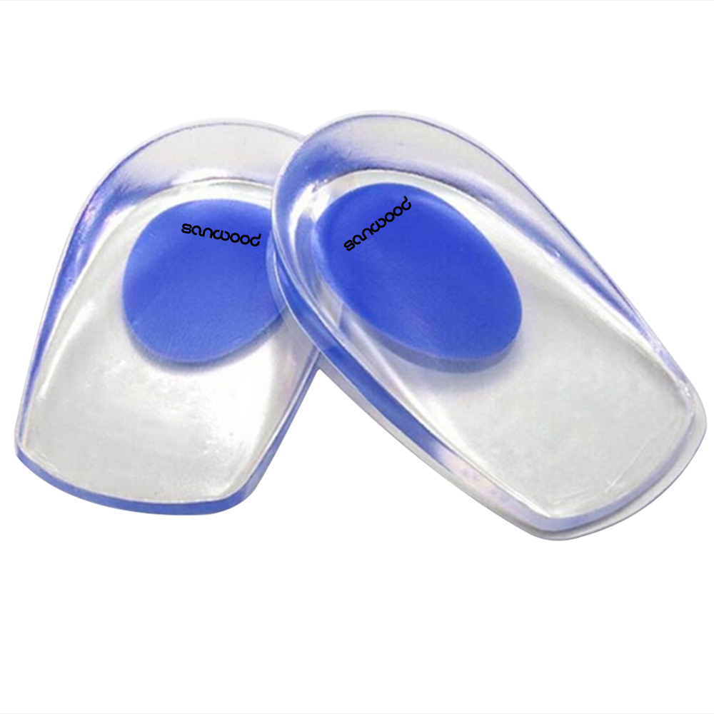 Gel Shoes Insoles Cushion Heel Cup Massage Pads Inserts Heel Pain Spur Silicone valve menstrual cup medical silicone period cup anti side leakage alternative tampon sanitary pads feminine hygiene products