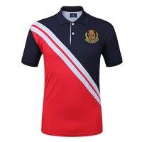 Brand Men Golf Polo Shirts Summer Golf Training Garment Sports Short Sleeve Polo Shirt Outdoor Tops