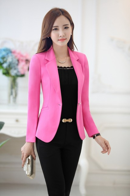 Formal Blazer Women Business Suits Formal Office Suits Work Wear Pant And  Jacket Sets Ladies Office