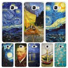 van gogh Hard White Coque Shell Case Cover Phone Cases for Samsung Galaxy A3 A5 A7 2016 2017 A8 A9 цена и фото