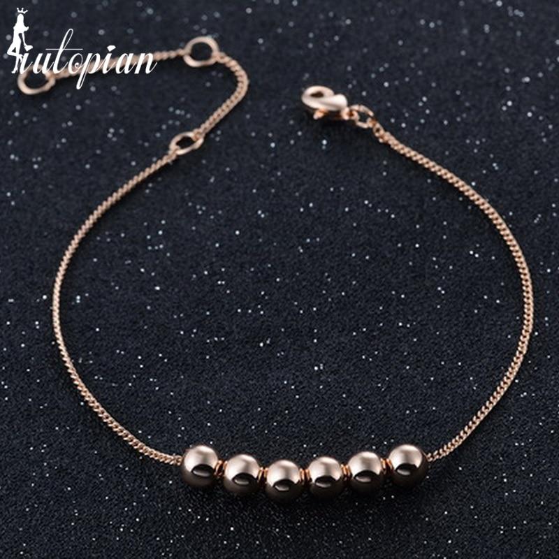 Iutopian 2018 Clearance Low Price Bracelet  Anti Allergy High Quality Gift Jewelry  1#RA70177