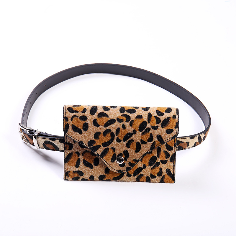 Leopard Bum Bag Waist Women Traveling Sports Adjustable Travel Pouch Fanny Pack Small Belt Bag Cool Fanny Packs Bgs Fr Wmen 2019