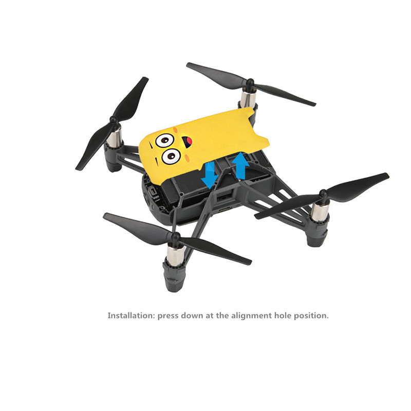 US $3 95 6% OFF|tello Drone body Protective shell Replace Repair parts  cover Prop Protector for dji tello Accessories-in Prop Protector from  Consumer