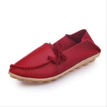Spring and autumn explosions 2019 new flat shoes Korean bow tie peas shoes large size hot soft at the end of wild fashion shoes(China)