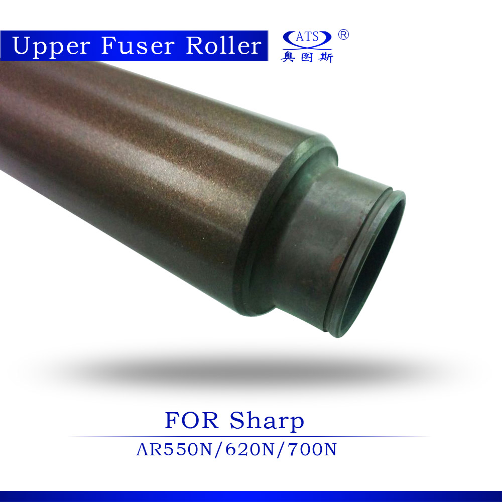 AR 550 620 700 Copier spare parts lower fuser roller for AR550 AR620 AR700 with factory price pressure roller reversing roller chain 6nylon roller set for kone escalator spare parts free shipping by dhl