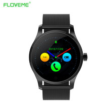 Floveme für ios android bluetooth smart watch pulsmesser schrittzähler anruf wearable electronic device smartwatch armband