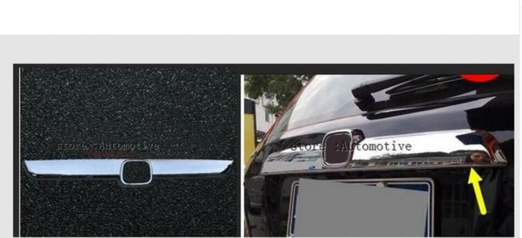 1 Stks Voor Honda Crv Cr-v 20072008 2009 Chrome Kofferbak Deksel Cover Trim
