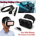 Free shipping!Baofeng Mojing 4 IV Gen 3D Virtual Reality VR Glasses Headset Box for IOS