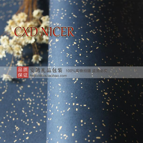 100GSM High Quality Wrapping Wrap Paper 58*60cm DIY Handmade Gift Wrapping Paper for birthday party Paper DD749