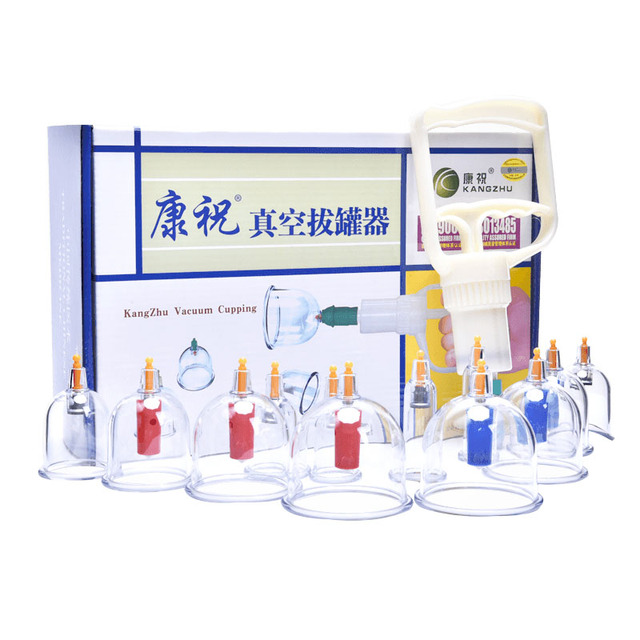 Suction cups Massage Vacuum cupping set Suction Cupping jar Acupunture Vacuum Cupping cans sucker Massager body cup thearapy