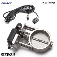 2/2.25/2.5/2.75/3 Electric Exhaust cut out Valve For Exhaust Catback Downpipe TK CUT001A