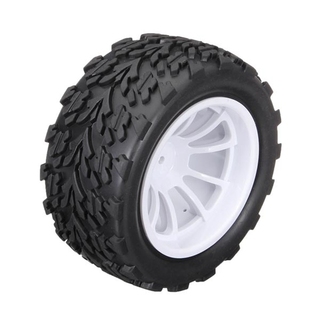 Hot Sale 1/10 Rc Monster Truck Tyre 2pcs/set For HSP Tamiya Losi