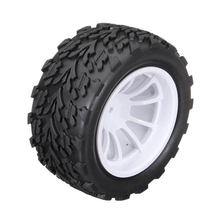 Venta caliente 1/10 Monster Truck Rc Neumáticos 2 unids/set Para HSP Tamiya Losi