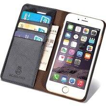 Оригинал musubo марка case для iphone 6 роскошные натуральной кожи кошелек телефон сумка обложка для apple iphone 6s случаи флип Coque
